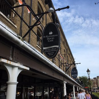 St Katharine Docks Cafe